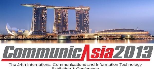 La exposición internacional CommunicAsia ITC 2013.